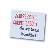 acupressure for labour